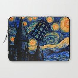 Tardis The Starry Night Laptop Sleeve