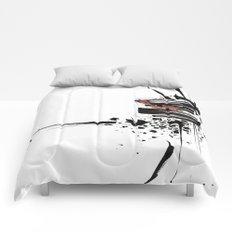 Abst-ink#01 Comforters