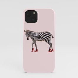 HIGH HEEL ZEBRA iPhone Case