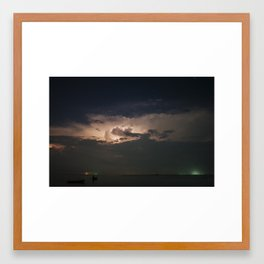 Storm's Coming Framed Art Print