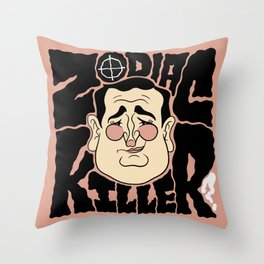 Zodiac Ted Throw Pillow