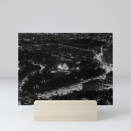 The Shrine of Remembrance and St Kilda Road from the Eureka Skydeck Mini Art Print