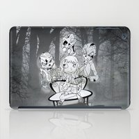 zombies iPad Cases featuring Zombies  by Alejandra Ochoa