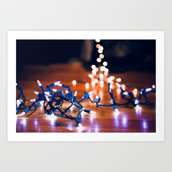 Rigging Up the Lights Art Print
