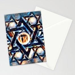 Chai Mandala - Blue Stationery Cards