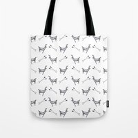 stag Tote Bags featuring stag by Ben Wills Illustration and Art