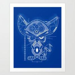 Weapons of Mouse Destruction Art Print