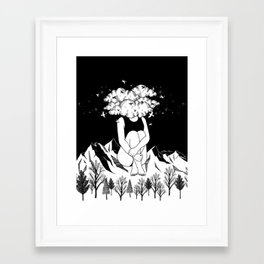 Across The Universe Framed Art Print