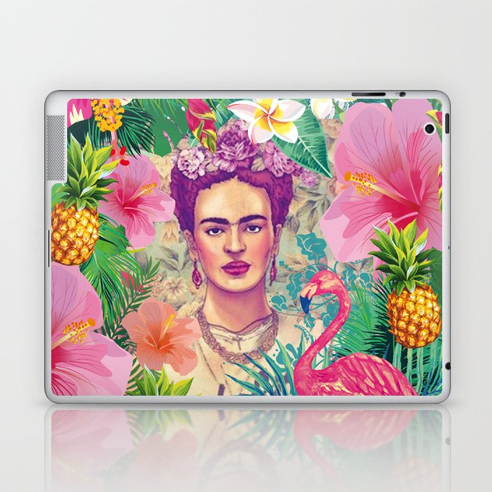 Frida Jungle Laptop & iPad Skin