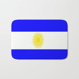 Flag of Argentina Bath Mat