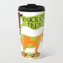 Hand Dog - Trick or Treat Travel Mug