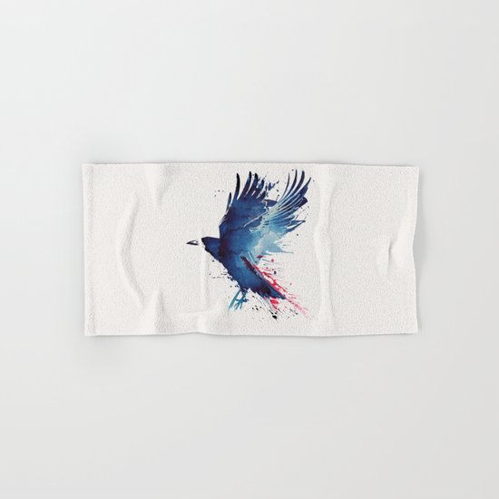 Bloody Crow Hand & Bath Towel