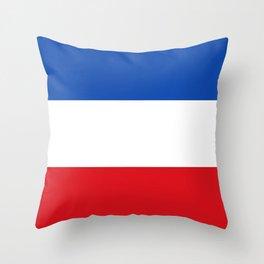 Flag of Quetzaltenango Throw Pillow