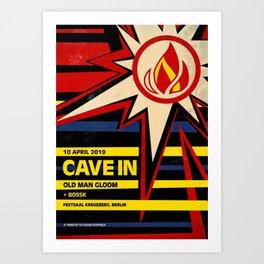 Cave In + Old Man Gloom - Live in Berlin 2019 Art Print