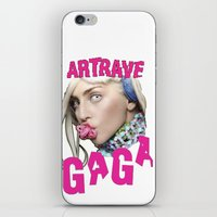 artrave iPhone & iPod Skins featuring ArtRave by Marcelo BM
