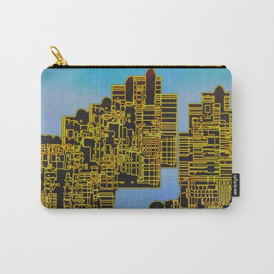 Atlante 12-07-16 / LIVING in ROCKS Carry-All Pouch