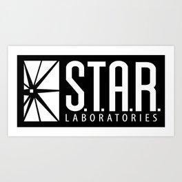 star lab Art Print