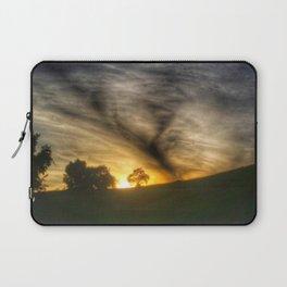 Sunset Cloud Tornado Laptop Sleeve