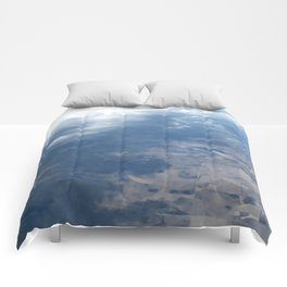 Clouds Across the Prarie Comforters