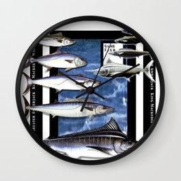 Angler Fishing Design Wall Clock