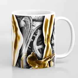 Woman In The Machine Frieze 2 Coffee Mug