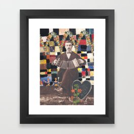 Without being out of tune Framed Art Print