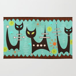 Atomic Cats Rug