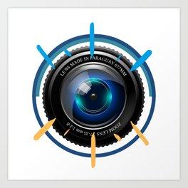 Photographer Gift | Photography Camera T-shirt Art Print