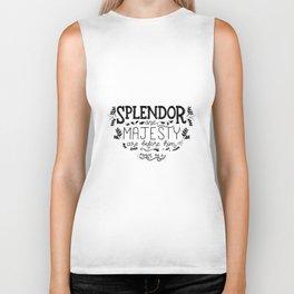 Splendor & Majesty Biker Tank