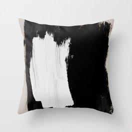 Abstract Brush Strokes 16 Throw Pillow