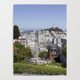 San Francisco, CA Poster