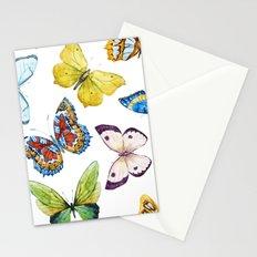 Butterfly Pattern 01 Stationery Cards