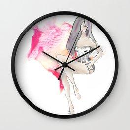 cute lingerie Wall Clock