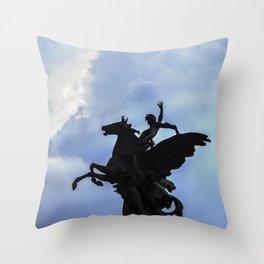 Pegaso A.Q. Throw Pillow