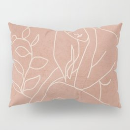 Engraved Nude Line I Pillow Sham