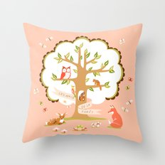 Les Amis - Dawn Colorway Throw Pillow