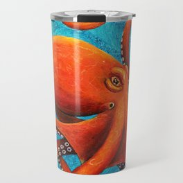 Holding On - Octopus Travel Mug