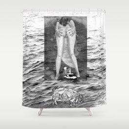 The constellation erotique 3395 Shower Curtain