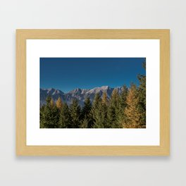 Autumn Joy Framed Art Print