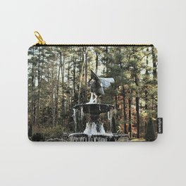 Winter's Lace Carry-All Pouch