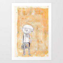 SHOWDOWN Art Print