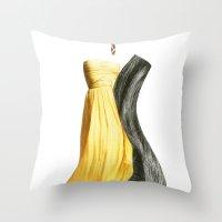 lesbian Throw Pillows featuring Wedding dream. Lesbian thing by al bruzzone
