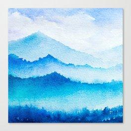 Winter scenery #17 Canvas Print
