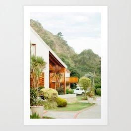 Seabreeze Cabanas, South Africa Art Print