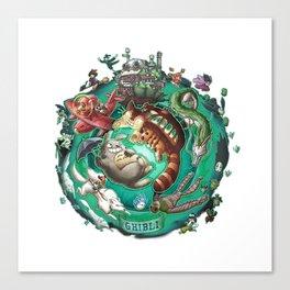 Studio Ghibli - 3 Canvas Print