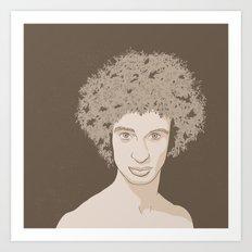 NATURE PORTRAITS 02 SIMPLIFIED Art Print