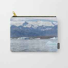 Ice melting at Vatnajokull Carry-All Pouch