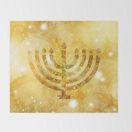 Hanukkah, the Festival of Lights Throw Blanket
