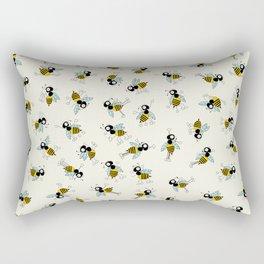 Dancing bee pyjama pattern Rectangular Pillow