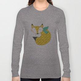 Fashionable Fox Long Sleeve T-shirt